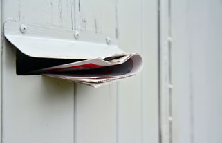 What is a good response rate for a letterbox drop or direct marketing campaign?