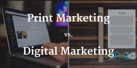 Why Print is Still a Contender in the Battle between Digital & Print Marketing